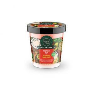 Γυναίκα Natura Siberica Organic Shop Body Desserts – Απολεπιστικό Σώματος Ανανέωσης με 'ρωμα Τροπικά Φρούτα 450ml