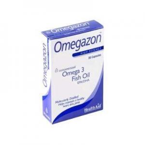 Διατροφή & Υγεία Health Aid Omegazon Omega 3 Iχθυέλαιο με Ωμέγα 3 Λιπαρά Οξέα 750mg για Καρδιά & Κυκλοφοριακό 30 Κάψουλες