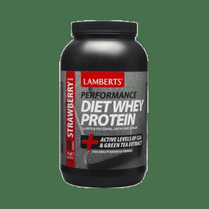 Αμινοξέα Lamberts – Συμπλήρωμα Διατροφής για Αδυνάτισμα & Έλεγχο Σωματικού Βάρους με Γεύση Φράουλα 1000gr