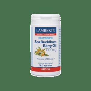 Βιταμίνες Lamberts – Ιπποφαές Πολυβιταμινούχο Συμπλήρωμα 1000mg 30 caps