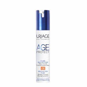 Αντιγήρανση - Σύσφιξη Uriage – Λεπτόρευστη Κρέμα Προσώπου Age Protect Πολλαπλών Δράσεων SPF30 40ml