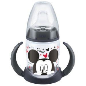 Πιπίλες - Μπιμπερό Nuk – First Choice Disney Mickey Μπιμπερό Εκπαίδευσης με Λαβές 150ml