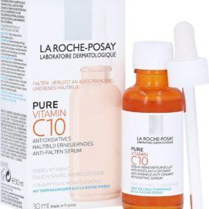 Περιποίηση Προσώπου La Roche Posay – Αντιοξειδωτικός, Αντιρυτιδικός και Αναζωογονητικός Ορός Λάμψης με Βιταμίνη C 30ml