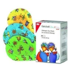 Ophthhalmology Disposables 3M – Orthoptic Eye Patch for Kids 5,7 x 8,2cm Ref 2539PF 20pcs