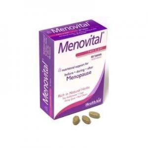 Γυναίκα Health Aid – Menovital Φροντίδα για την Εμμηνόπαυση 60 ταμπ.