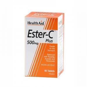 Για Όλη Την Οικογένεια Health Aid – Εστέρας Βιταμίνης C 500mg 60tabs