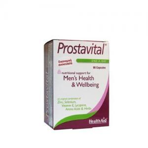 Άνδρας Health Aid – Prostavital Φυτικός Συνδυασμός με Βιταμίνες, Μέταλλα και Αμινοξέα για τον Προστάτη 90 καψ.