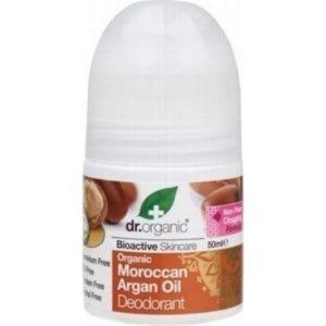 Άνδρας Dr. Organic – Αποσμητικό με Βιολογικό Έλαιο Αργκάν 50ml