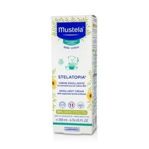Μαμά - Παιδί Mustela – Μαλακτική Κρέμα Σώματος για Βρεφική-Παιδική Ατοπική Δερματίτιδα 200ml