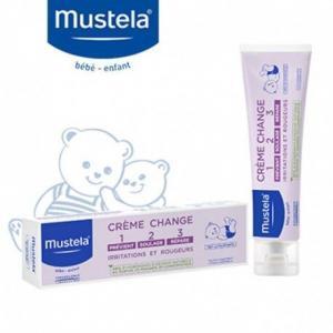 Ενυδάτωση - Baby Oil Mustela – Cream 1-2-3 Κρέμα για την Αλλαγή της Πάνας 100ml