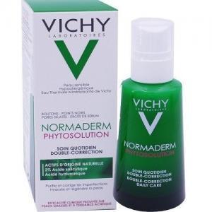 Περιποίηση Προσώπου Vichy – Κρέμα Καθημερινής Φροντίδας Διπλής Διόρθωσης για Λιπαρές Επιδερμίδες με Τάση Ακμής 50ml