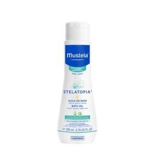 Σαμπουάν - Αφρόλουτρα Βρεφικά Mustela – Θρεπτικο Βρεφικό Λαδάκι Μπάνιου για Ατοπικό Δέρμα 200ml