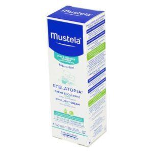Ενυδάτωση - Baby Oil Mustela – Μαλακτική Κρέμα Προσώπου για Ατοπικό Δέρμα 40ml