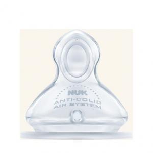 Μαμά - Παιδί Nuk – First Choice Plus Θηλή Σιλικόνης Κατά Των Κολικών Μέγεθος Medium 0-6 Μηνών 1τμχ