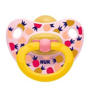 Πιπίλες - Μπιμπερό Nuk – Classic Happy Kids Ορθοντική Πιπίλα Καουτσούκ 6-18 Μηνών 1τμχ