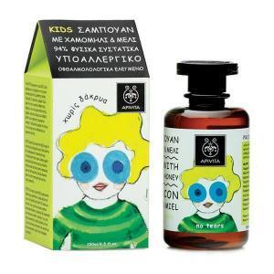 Παιδική Φροντίδα Apivita – Παιδικό Σαμπουάν με Χαμομήλι και Μέλι 250ml