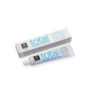 Οδοντόκρεμες-ph Apivita – Total Οδοντόκρεμα Ολοκληρωμένης Προστασίας με Δυόσμο και Πρόπολη 75ml