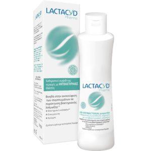 Εγκυμοσύνη - Νέα Μαμά Lactacyd – Καθαριστικό Ευαίσθητης Περιοχής με Αντιβακτηριακή Δράση 250ml