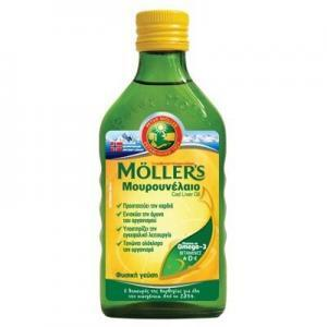 Παιδικές Βιταμίνες Moller's – Μουρουνέλαιο με φυσική γεύση 250ml