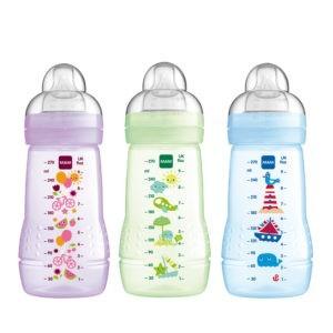 Πιπίλες - Μπιμπερό MAM – Easy Active Baby Bottle με Θηλή Σιλικόνης 2+ Μηνών 270 ml