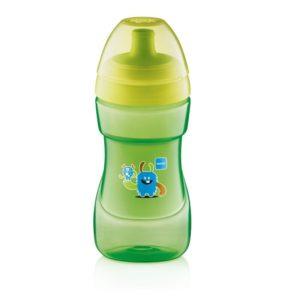 Πιπίλες - Μπιμπερό MAM – Ποτηράκι Sports cup για μωρά 12+ Μηνών με Στόμιο που Δεν Στάζει 330 ml