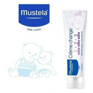 Ενυδάτωση - Baby Oil Mustela – Cream 1-2-3 Κρέμα για την Αλλαγή της Πάνας 50ml