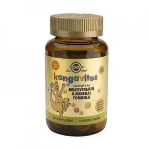 Βιταμίνες Solgar – Kangavites Tropical Flavor Παιδική Πολυβιταμίνη 60 ταμπ