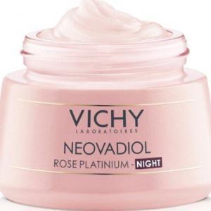 Περιποίηση Προσώπου Vichy – Neovadiol Rose Platinum Night Κρέμα Νύχτας από την Εμμηνόπαυση και Μετά 50ml