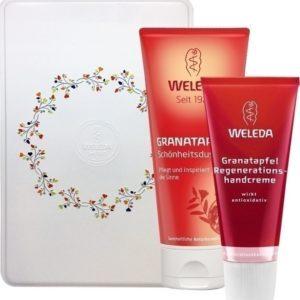 Γυναίκα Weleda – Gift Set Αναζωογονητική Κρέμα Χεριών Ρόδι 50 ml και Δώρο Κρεμοντούς Ρόδι 200 ml