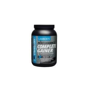 Πρωτεΐνες - Υδατάνθρακες Lamberts – Συμπλήρωμα Διατροφής με Πρωτεΐνη και Υδατάνθρακες για Αθλητές με Γεύση Φράουλα 1816gr