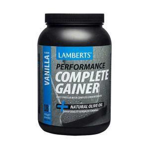 Διατροφή & Υγεία Lamberts – Performance Complete Gainer Whey Protein Fine Oats με Γεύση Βανίλια 1816g
