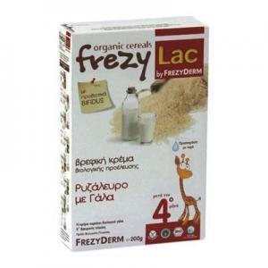 Διατροφή Βρέφους Frezyderm – Frezylac Ρυζάλευρο – Γάλα 200g