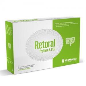 Υγεία-φαρμακείο Winmedica – Retoral Φακελίσκοι Για Την Αντιμετώπιση Της Δυσκοιλιότητας 12x3gr