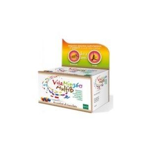 Βιταμίνες Winmedica – Sofar VitaMin360 MultiB Kids Παιδική Πολυβιταμίνη 60 Μασώμενες Ταμπλέτες με Γεύση Σοκολάτα