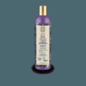 Σαμπουάν Natura Siberica – Super Siberica, Kedr, Rose και Proteins, Σαμπουάν για Πολυδιάστατο Όγκο, για Αδύναμα Μαλλιά, 400ml