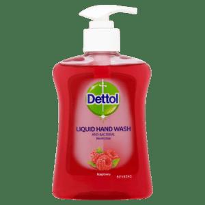 Καθαριστικά Dettol – Αντισυπτικό Κρεμοσάπουνο Raspberry 250ml