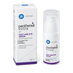Περιποίηση Προσώπου Medisei – Panthenol Extra Antiwrinkle Face and Eye Serum Αντιρυτιδικός Ορός για Πρόσωπο και Μάτια 30 ml