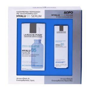 Γυναίκα La Roche Posay –  Promo Hyalu B5 Serum Αντιρυτιδικό και Επανορθωτικό Συμπύκνωμα για Ρυτίδες και Απώλεια Όγκου 30ml και Δώρο Hyalu B5 Care Αντιρυτιδική Κρέμα 7.5ml