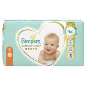 Μαμά - Παιδί Pampers – Premium Care Value Pack No 3 (6-10kg) Βρεφικές Πάνες 60τμχ