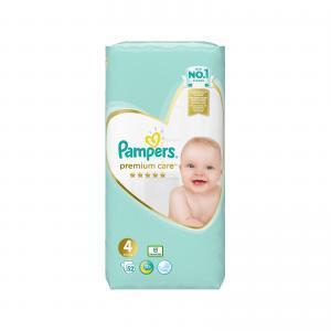 Μαμά - Παιδί Pampers – Premium Care Value Pack No 4 (9-14kg) Βρεφικές Πάνες 52τμχ