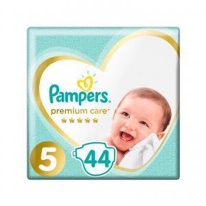 Βρεφική Φροντίδα Pampers – Jumbo Premium Care Value Pack No 5 (11-16kg) Βρεφικές Πάνες 44τμχ