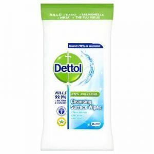Διάφορα Αναλώσιμα-ph Dettol – Wipes Αντισηπτικά Υγρά Μαντηλάκια Καθαρισμού 36τμχ