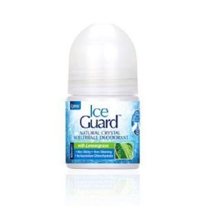 Αποσμητικά-Άνδρας Optima – Ice Guard Natural Crystal Deo Lemongras Αποσμητικό σε Roll On με Άρωμα Λεμονόχορτο 50ml
