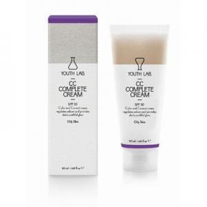 Περιποίηση Προσώπου Youth Lab – CC Complete Cream SPF30 Καλυπτική Κρέμα Αναδόμησης Με Χρώμα – Λιπαρό Δέρμα 50ml
