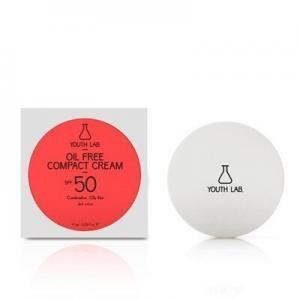 Περιποίηση Προσώπου Youth Lab – Oil Free Compact Cream SPF50 Dark Color Αντηλιακή Κρέμα Compact Με Χρώμα Για Μικτό – Λιπαρό Δέρμα