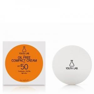Γυναίκα Youth Lab – Oil Free Compact Cream SPF50 Light Color Αντιηλιακή Κρέμα Προσώπου Με Χρώμα – Μεικτό και Λιπαρό Δέρμα 10gr