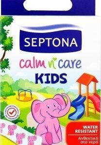 Φαρμακείο Septona – Calm n Care Kids Παιδικοί Ταχυεπίδεσμοι Ανθεκτικοί στο Νερό 15τμχ