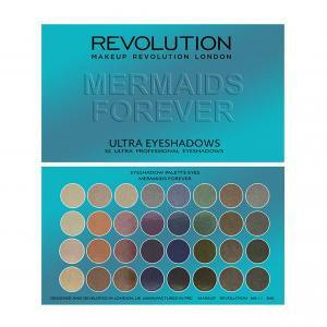 Γυναίκα Revolution – Beauty Ultra 32 Shade Eyeshadow Palette Mermaids Forever