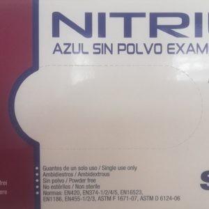 => STOP COVID-19 Santex – Γάντια Νιτριλίου χωρίς Πούδρα 100 τμχ