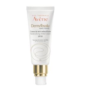 Περιποίηση Προσώπου Avene – DermAbsolu Crème de Teint Redensifiante Κρέμα Νεότητας με Χρώμα SPF30 40ml